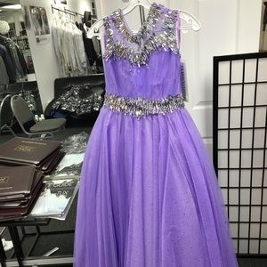 Dresses & Skirts - Princess lavender dress with stones crystals